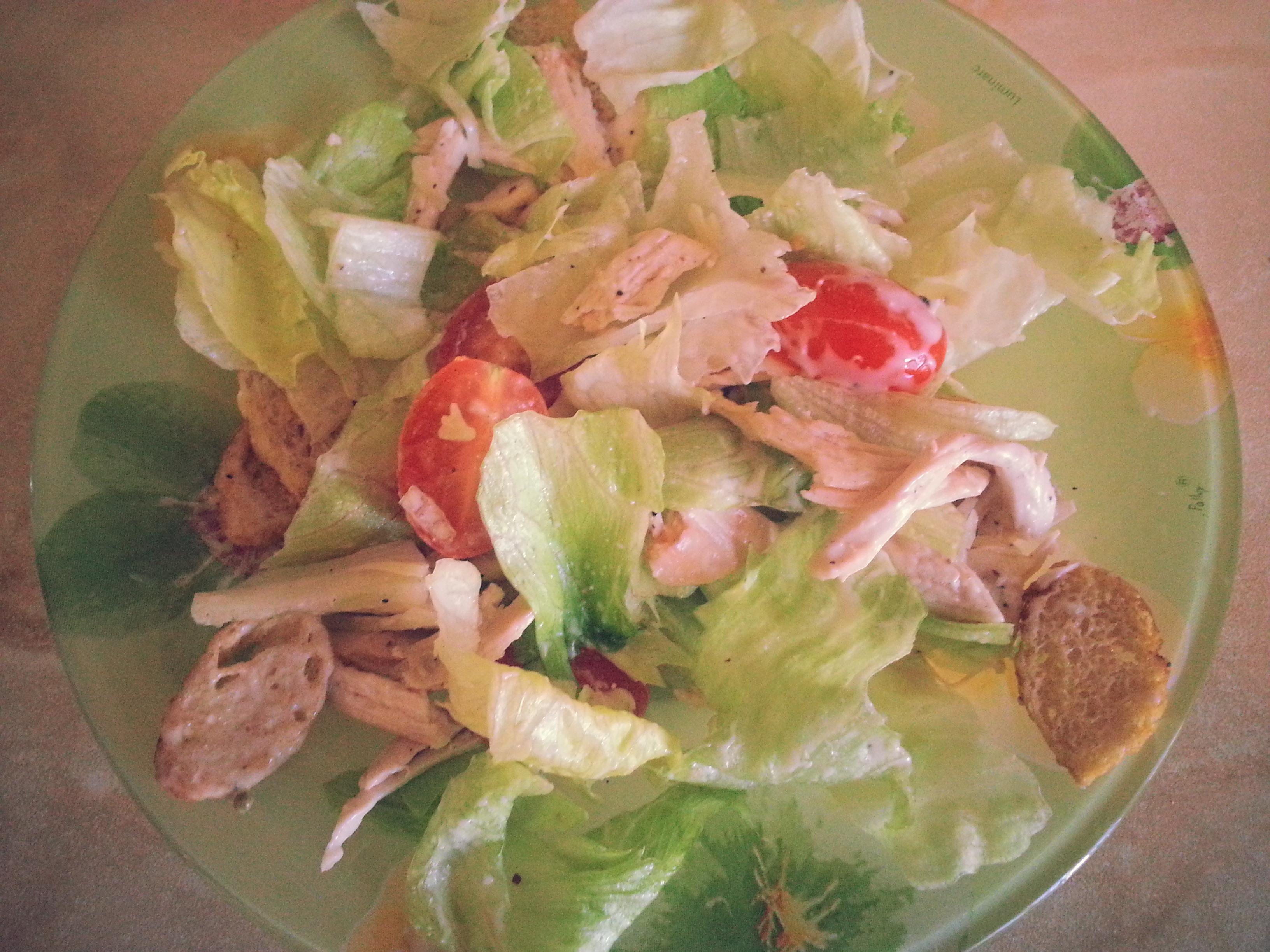 Рецепт салата цезаря с пошаговым фото